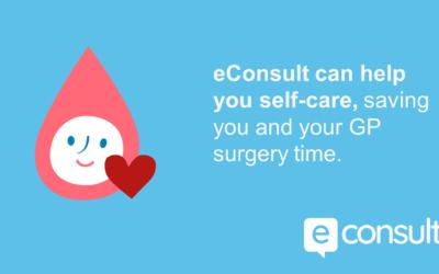 eConsult Self-help & Pharmacy advice