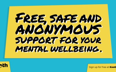 Kooth – free online wellbeing support for young people